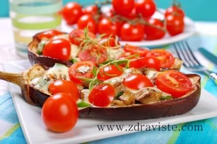 Патладжан с домати на фурна