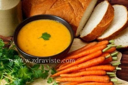 Супа от моркови и кориандър