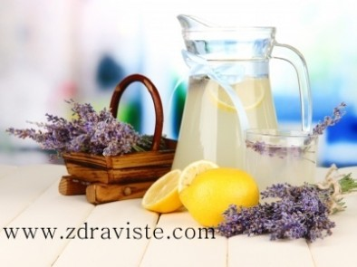 Лавандулова лимонада при стрес и нервно напрежение