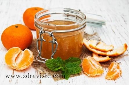 Сладко от мандарини
